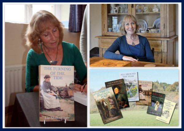 Meet the Author Liz Shakespeare around Devon this Summer