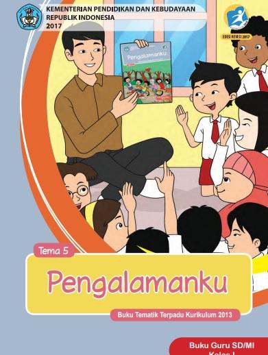 Buku Kurikulum 2013 Kelas 1 Sd Mi Semester 2 Revisi 2017 Info Pendidikan Indonesia