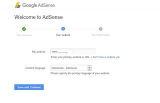 Langkah Langkah Dan Cara Daftar Adsense Non Hosted