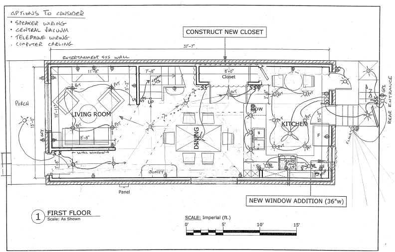 House Electrical Plan
