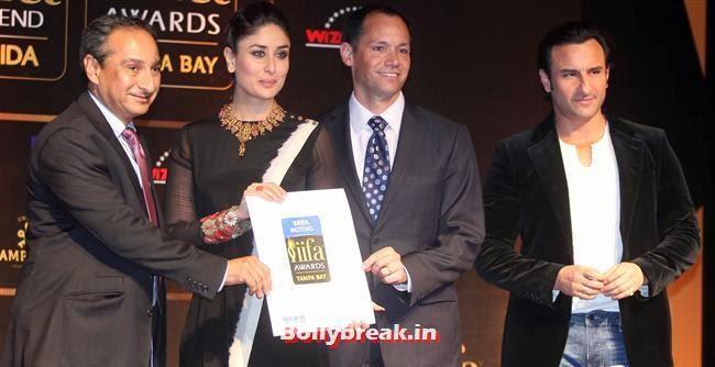 Kareena Kapoor and Saif Ali Khan, Kareena Kapoor at IIFA 2014 Press Conference