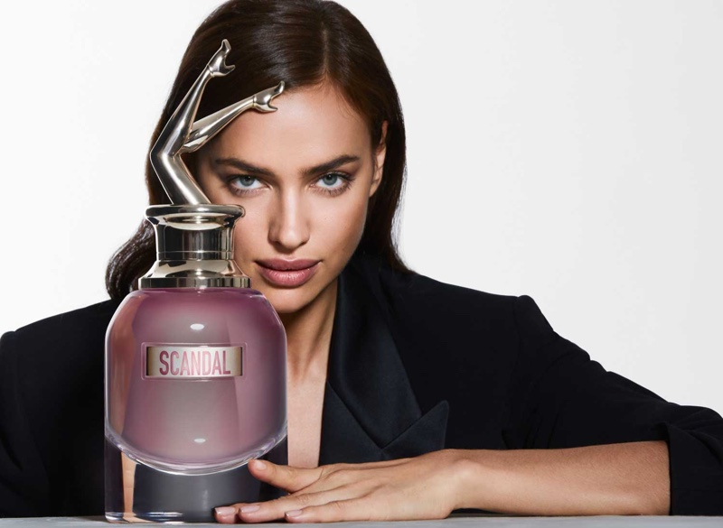 Irina Shayk is the Face of Jean Paul Gaultier 'Scandal a Paris'