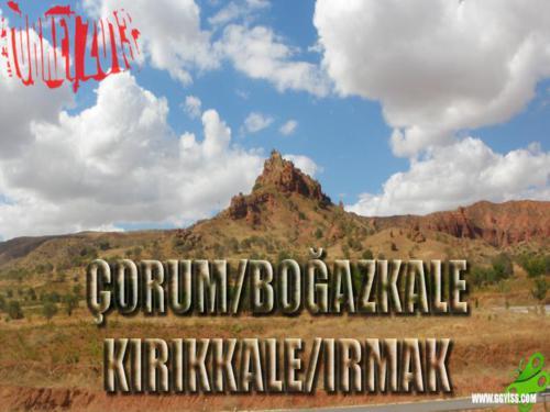 2013/09/09 Turkey2013 55. Gün (Çorum/Boğazkale - Kırıkkale/Irmak)
