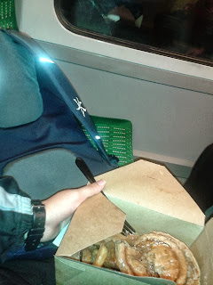 Pie on the train
