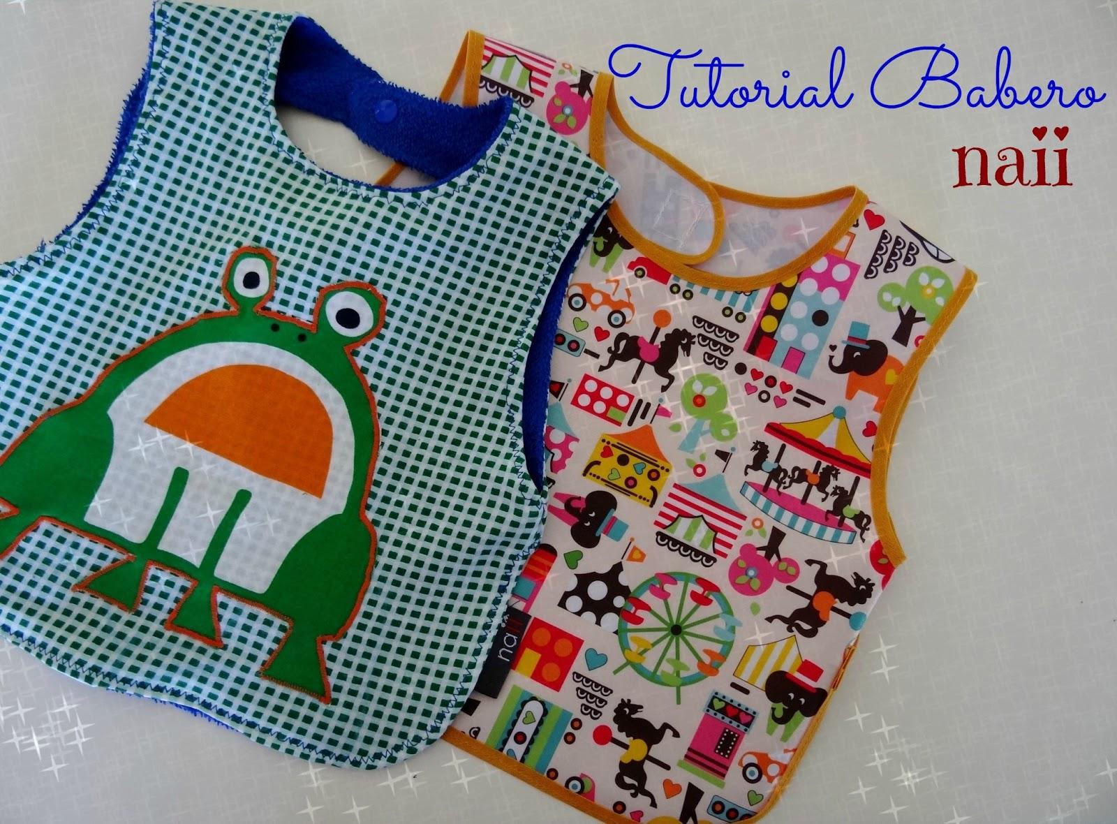 0ef58a417a Una de mis primeras costuras cuando aprendí a coser fueron baberos. Anda  que hice muchos con camisetas recicladas y toallas viejas!