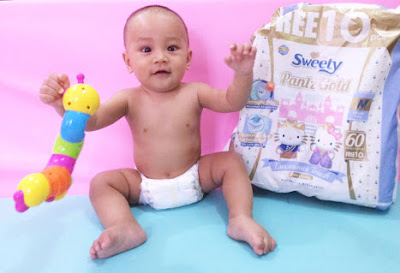 Review Diapers - Sweety Comfort Gold