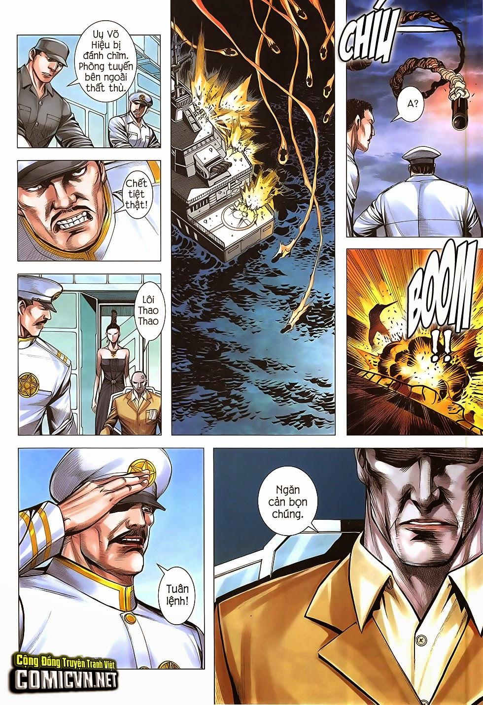 Đại Quân Phiệt chap 47: lời hứa trước khi thế giới chung kết trang 21