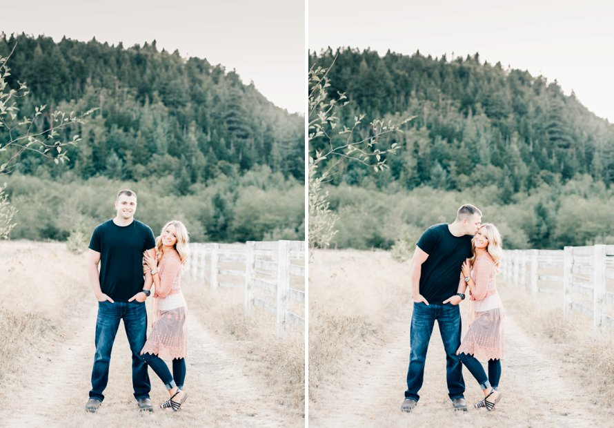 Rein Fire Ranch Engagement Session   Wedding Photographer   Something Minted Photography