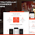 Athletica - Retina Parallax One Page WP Shop Theme