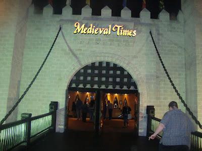 Jantar temático Medieval Times, Kissimmee - FL