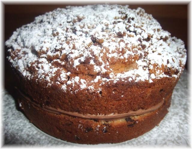 Filled Chocolate Chip Crumb Cake Recipe