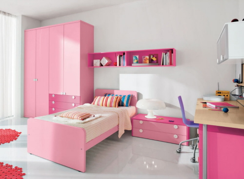 Free New Cute Pink And Purple Teen Room Interior Design 2019