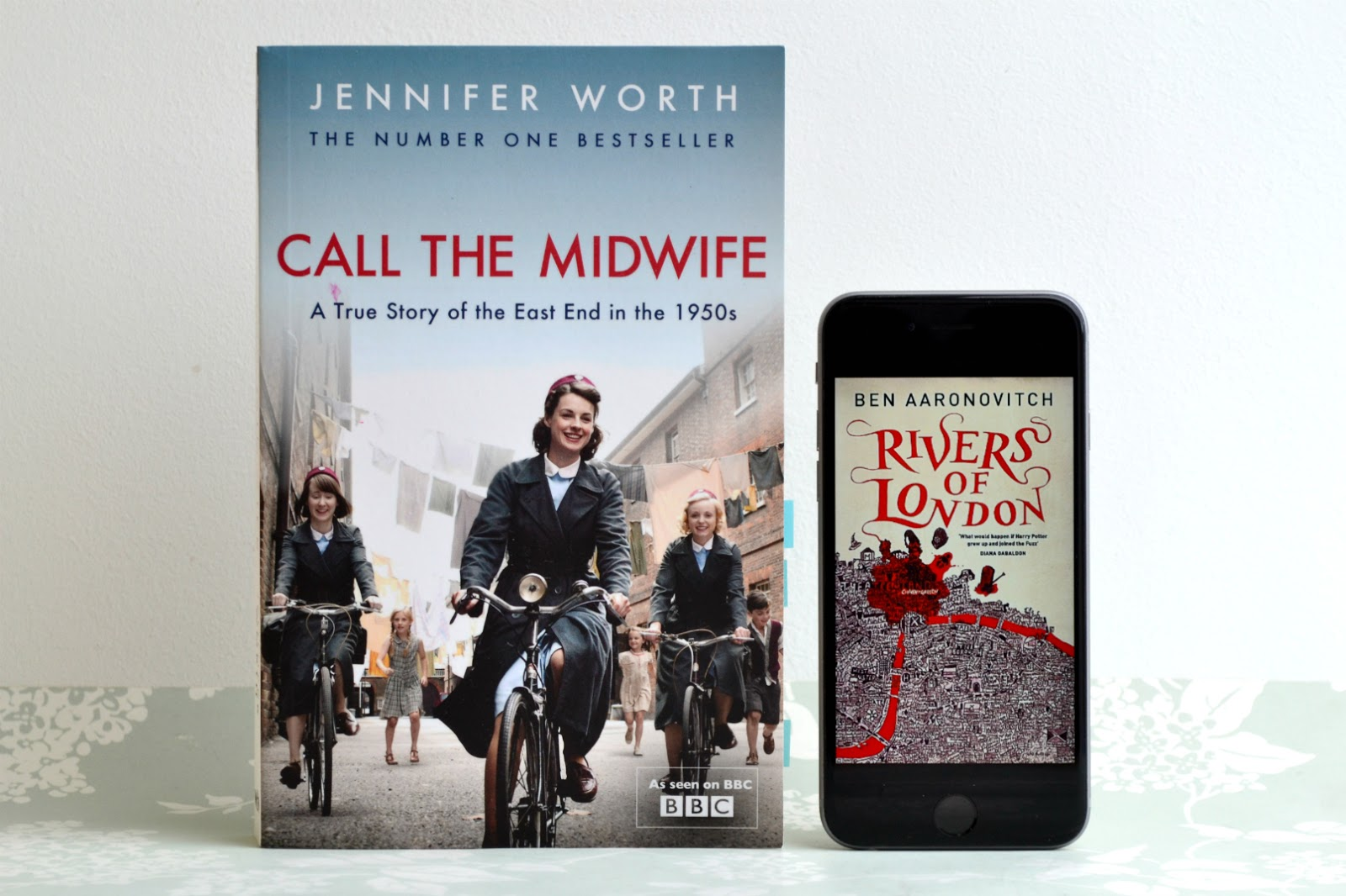 Call the Midwife by Jennifer Worth and Rivers of London by Ben Aaronovitch