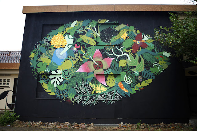 Gola Hundun just sent us a series of snaps from his newest piece which was just completed on the streets of Wursburg in Germany.