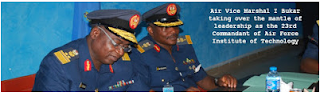 AFIT New 23rd Commandant - Air Vice Marshal I Bukar]