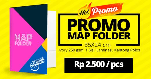 cetak map folder murah