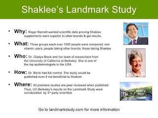LANDMARK STUDY SHAKLEE SATU-SATUNYA MILIK SHAKLEE?
