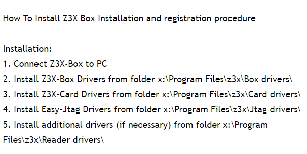Z3x Shell Latest 4 7 4 Download Setup WIth Driver | All