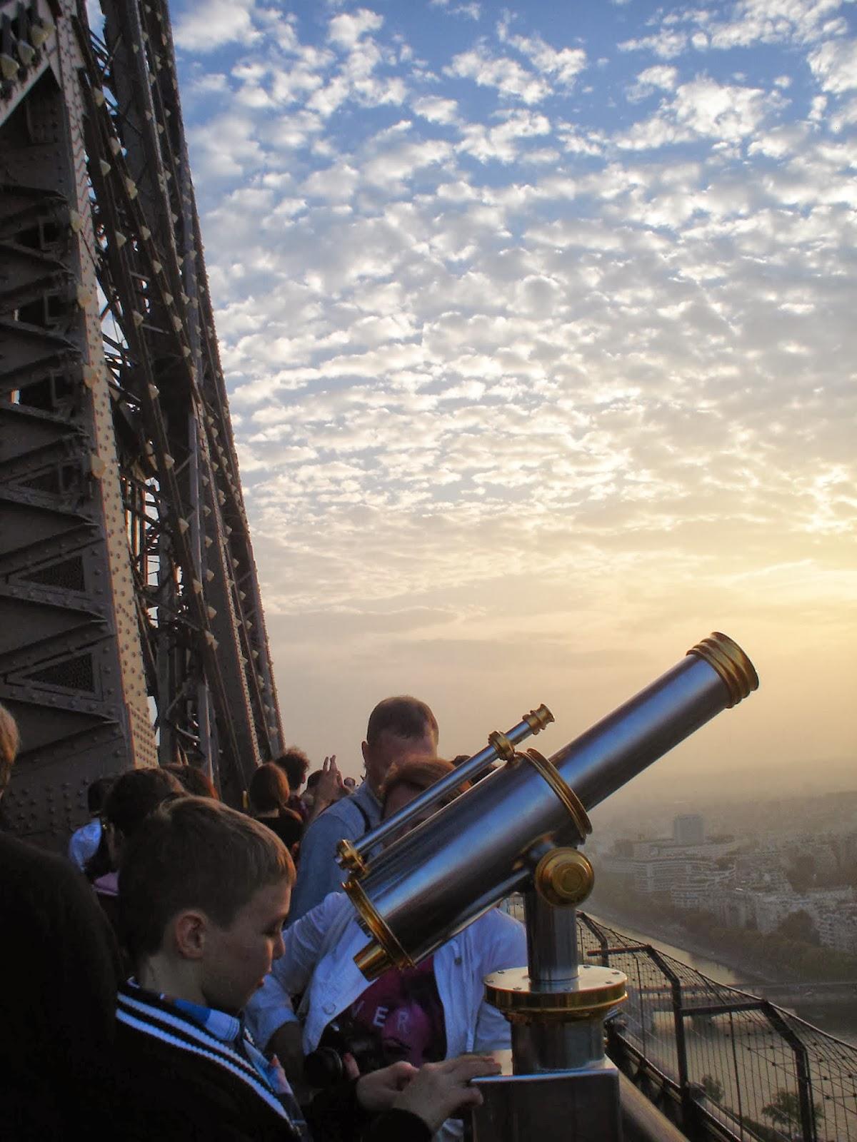 Výhled z Eiffelovy věže