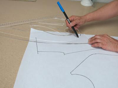 como hacer tu propia regla de curvas