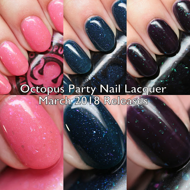 Octopus Party Nail Lacquer March 2018 Releases