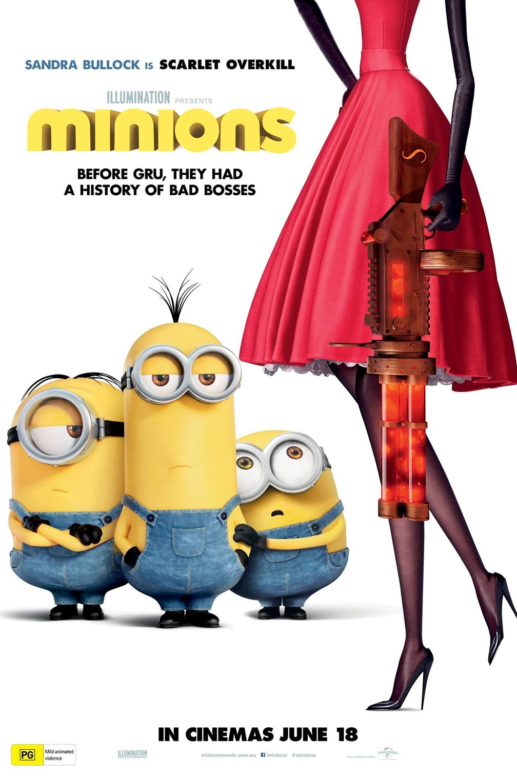 Movie Segments to Assess Grammar Goals: Minions: Present Perfect