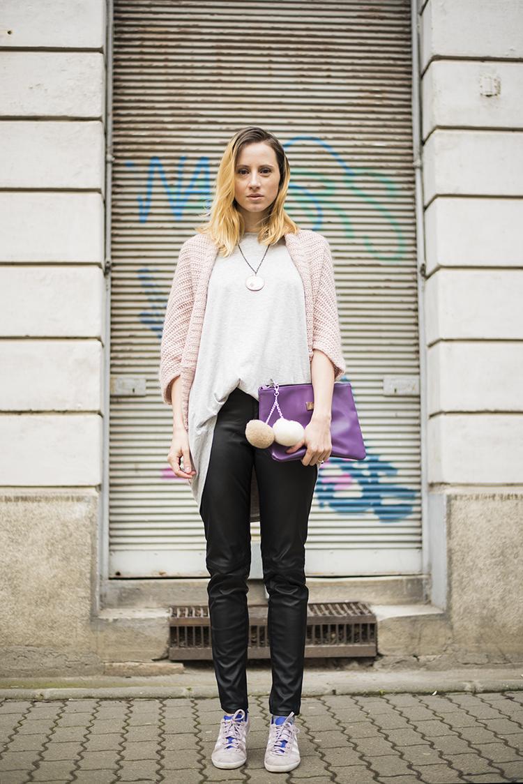 rose quartz cocoon sweater