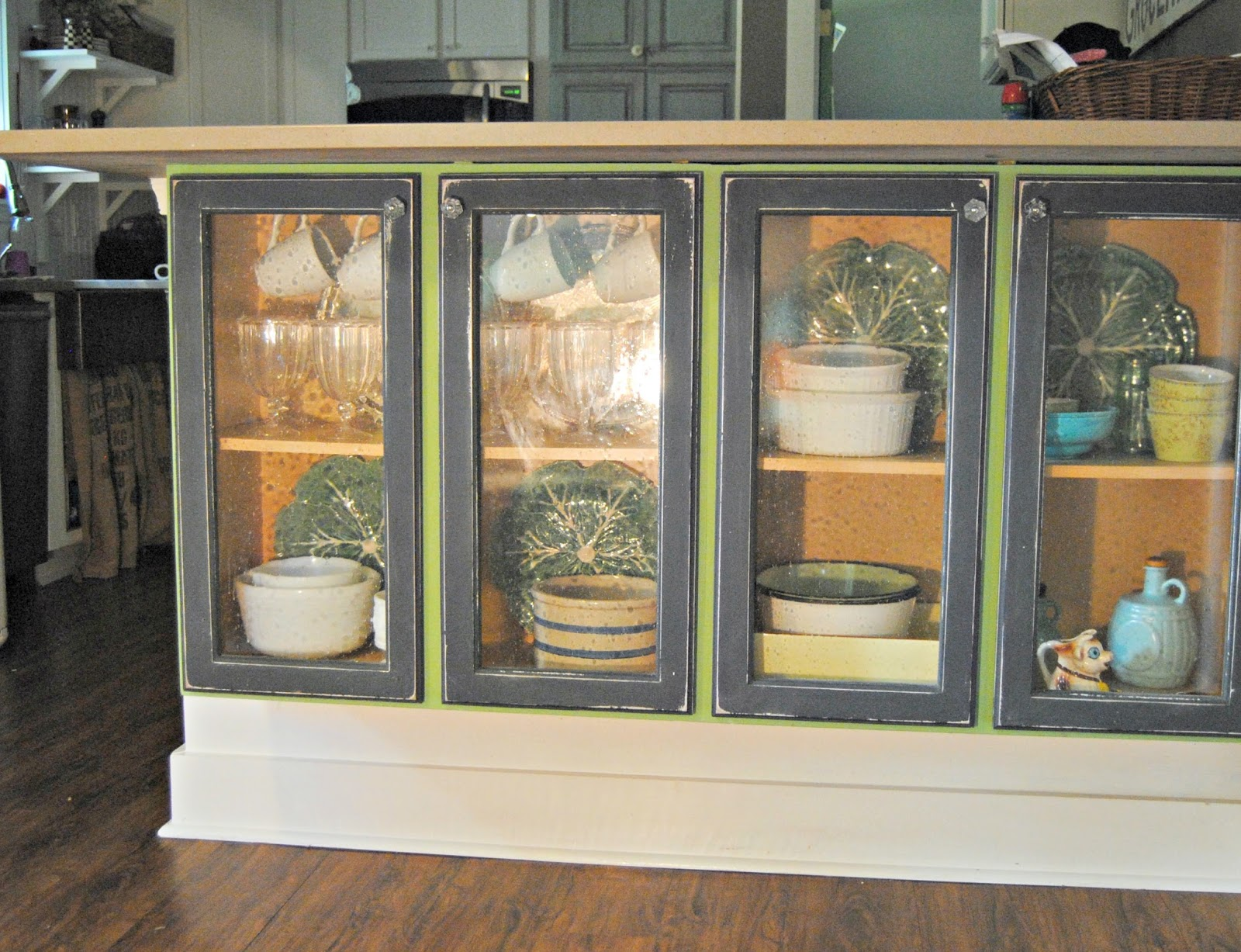 adding glass doors to my kitchen cabinets the painted home by rh thepaintedhome com Adding Hardware to Kitchen Cabinets Glass Inserts for Kitchen Cabinets