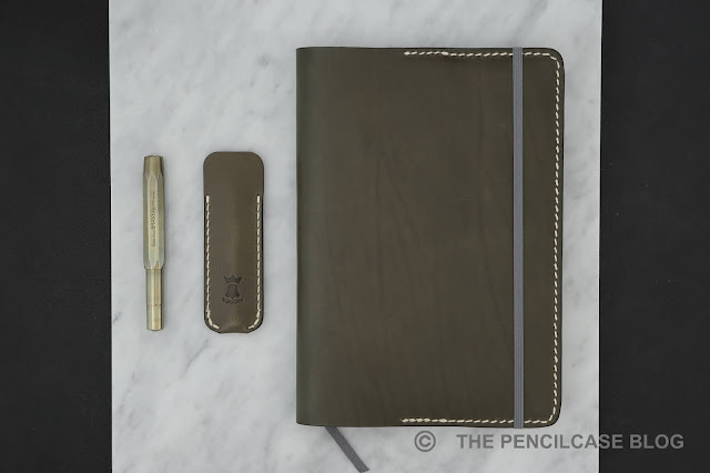 Review: Kron Leather Goods journal cover & pen sleeve