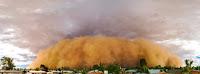 A haboob dust storm rolls over suburban Phoenix in 2012. (Credit: Jasper Nance/flickr) Click to Enlarge.