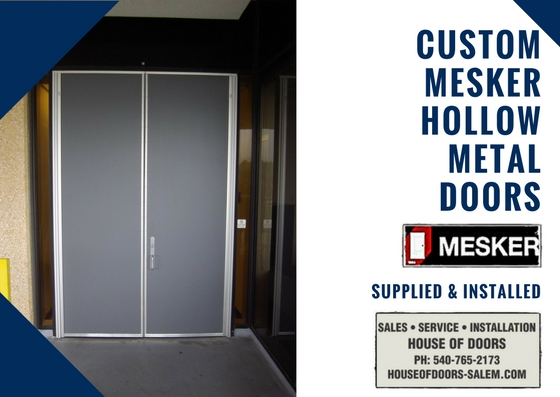 Mesker brand hollow metal doors and frames sold serviced and installed by House of Doors - Roanoke ... & Mesker brand hollow metal doors and frames sold serviced and ...