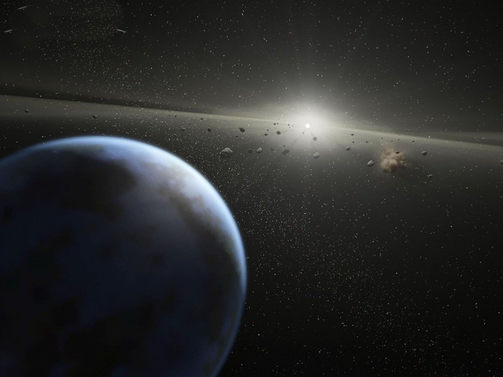 3d Moving Wallpapers City Lights Wallpapers Asteroid Belt In Orbit