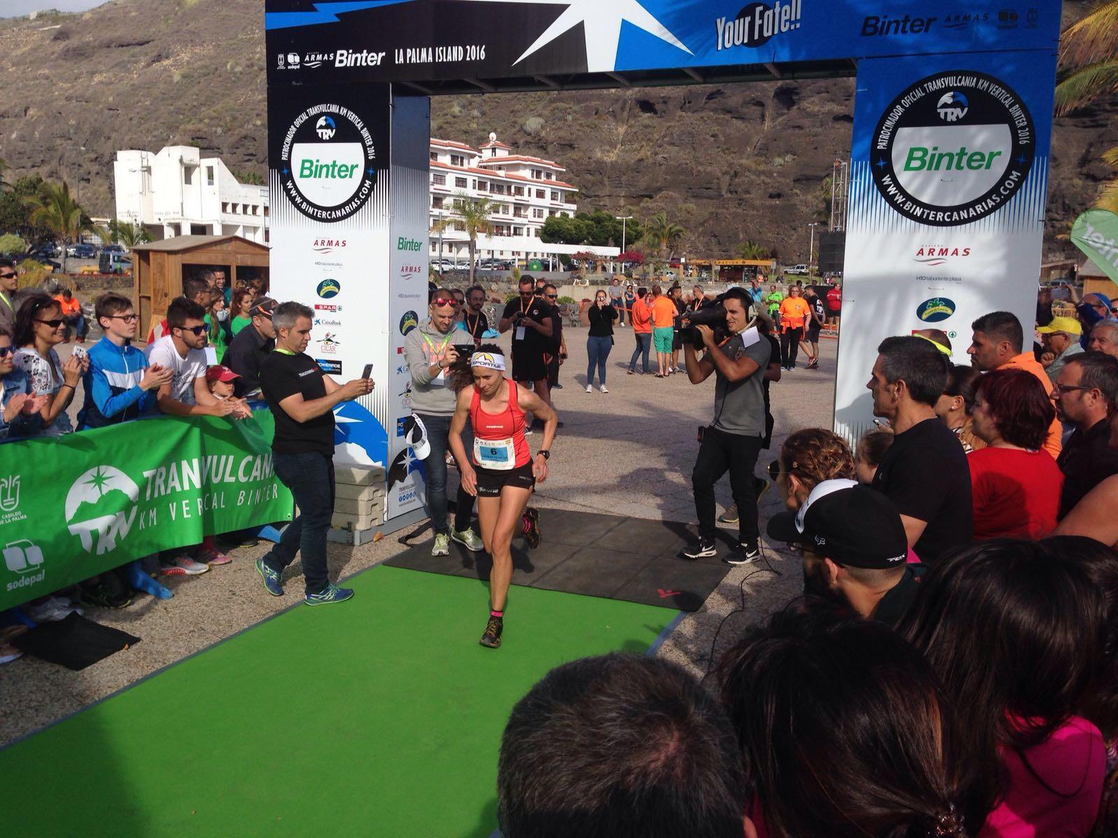 Kilómetro Vertical - Transvulcania 2016