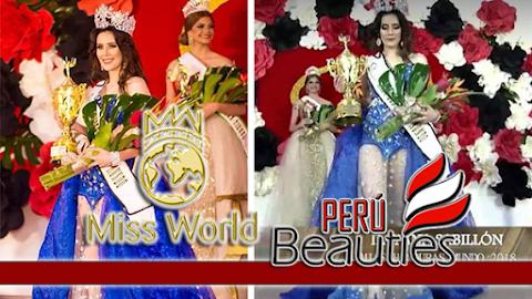 Miss World Honduras 2018