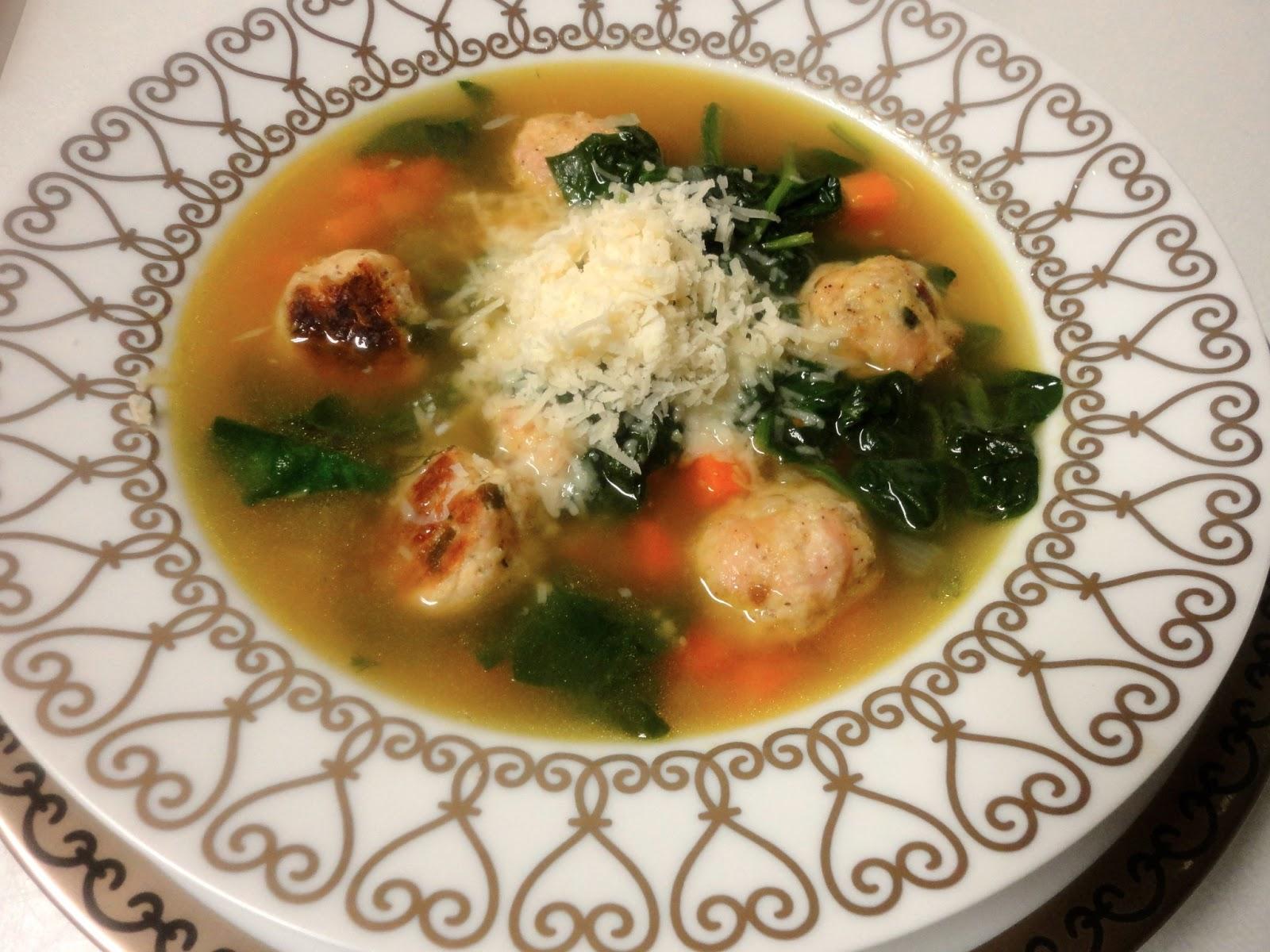 Ina Garten S Italian Wedding Soup And Her Recipe For En Stock