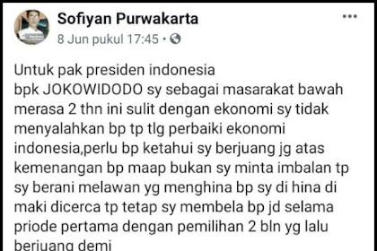 Ngakak, Ketika Pendukung Jokowi Tobat Gak Pilih Lagi Gara-gara Gak Bisa Mudik