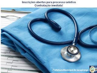 Prefeitura abre processo seletivo para contratação imediata para técnico de enfermagem
