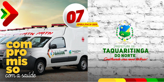 07 novas ambulâncias foram adquiridas