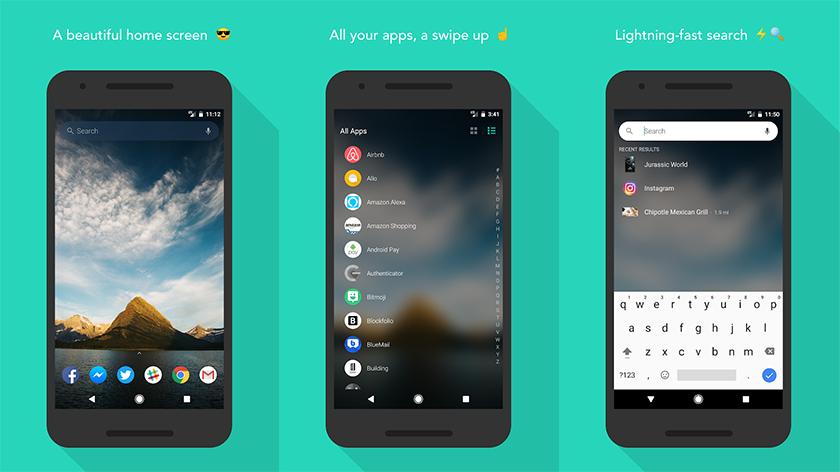 evie launcher para android ultima versión