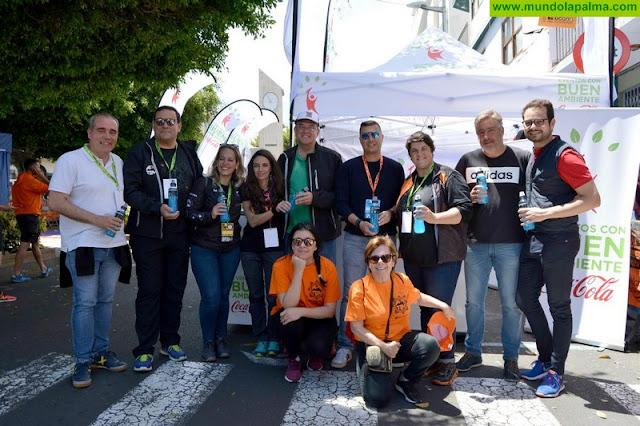 Transvulcania, evento 'Coca-Cola con Buen Ambiente'
