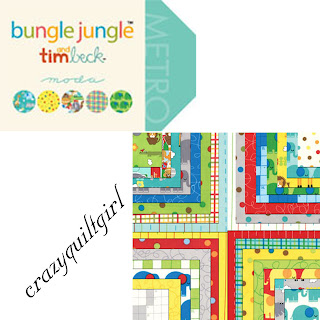 Moda BUNGLE JUNGLE Quilt Fabric by Tim and Beck