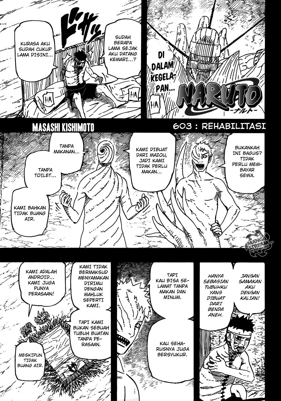 Komik manga naruto 603 01 shounen manga naruto