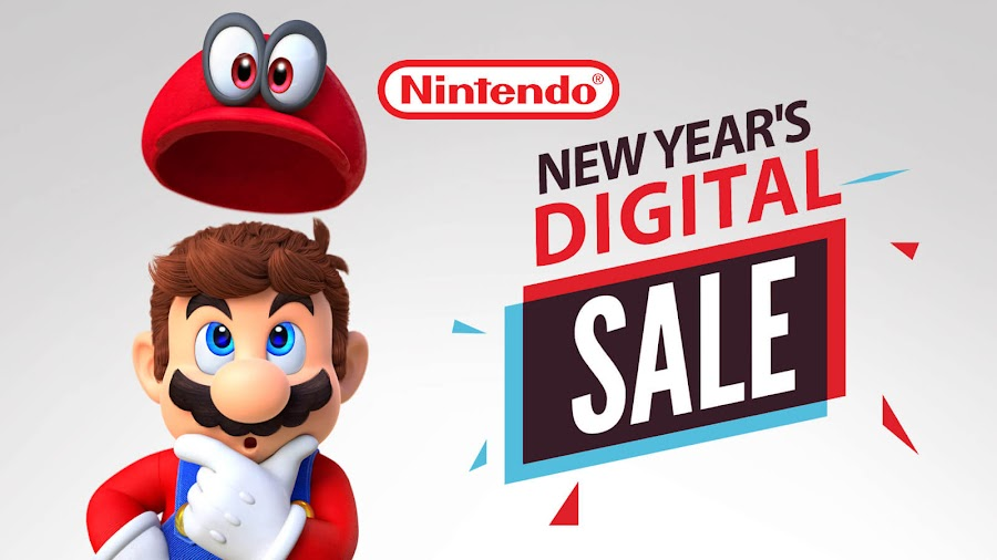 nintendo switch new year 2019 digital sale
