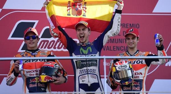 Podium Valencia 2015