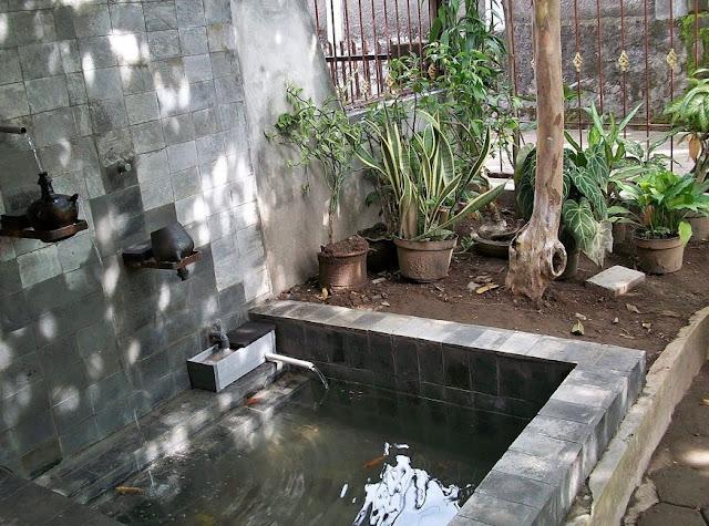 kolam ikan minimalis di lahan sempit 2016