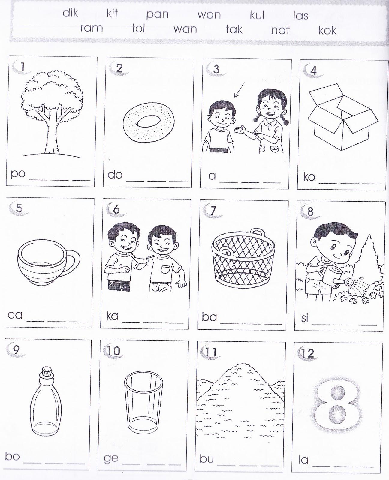 Kssr Bahasa Malaysia Tahun 1 Latihan Pengukuhan 4