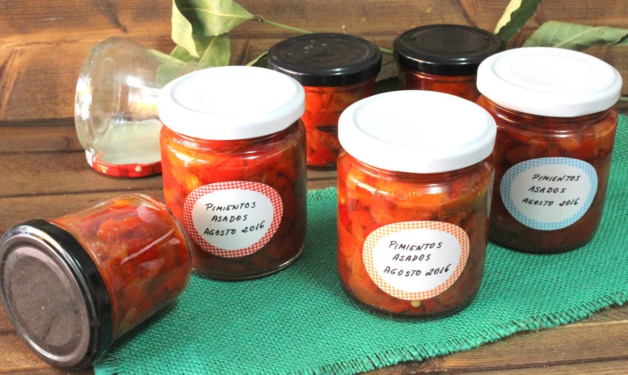 Julia y sus recetas c mo hacer conserva de pimientos asados - Como hacer mermelada de pimientos ...