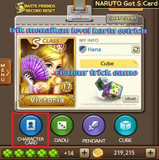 tips jitu menaikkan level kartu Getrich agar lebih kuat dengan mudah