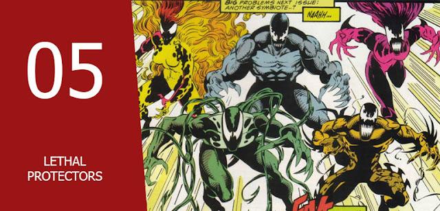 jenis-jenis macam Marvel Symbiotes