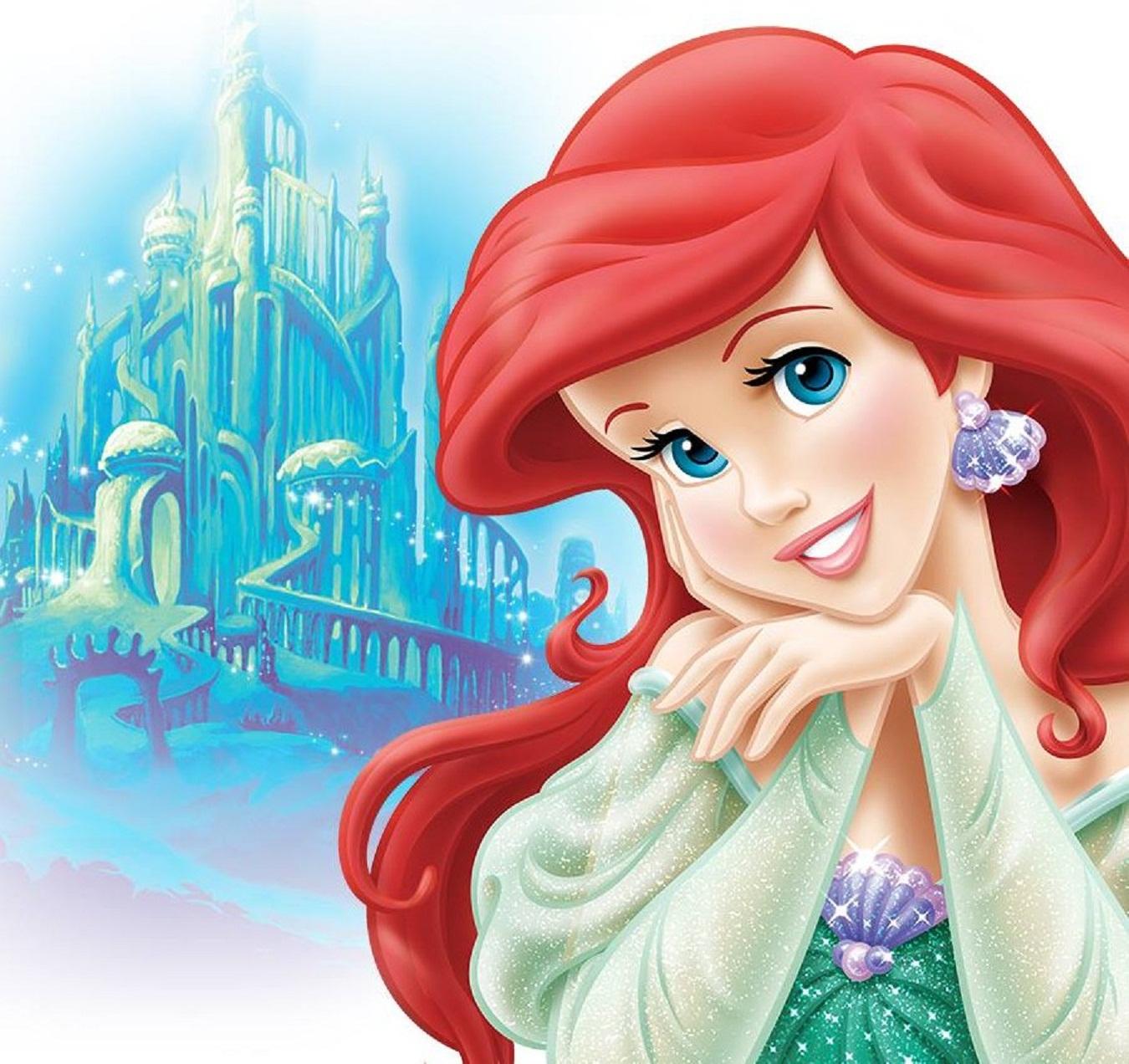 Disney Princess Gallery Slideshow: Disney HD Wallpapers: Walt Disney Princess Ariel HD Wallpapers